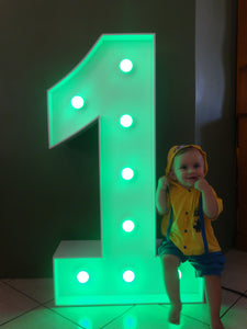 Any light up numbers 0-9 ( 3.5ft)