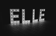 3.5ft Any Light up letters A- Z