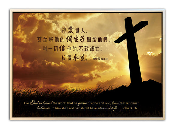 God Loves the World/Wall Decor/Large 神爱世人-大/精品装饰画