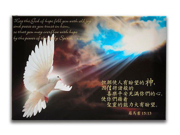 Dove of Holy Spirit/ Canvas/ 圣灵之鸽/无框画