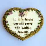 In this house we will serve the Lord/Refrigerator Magnet/ 在我的家里/冰箱贴