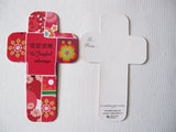 Sample of Decoration Flower/Cross Bookmark/装饰花卉十字架书签