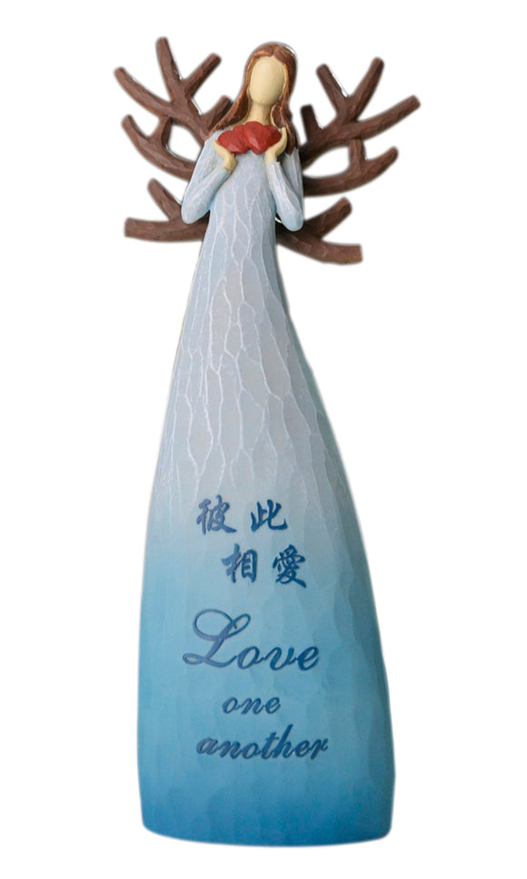 Angel Jewelry Stand/Love one another/Upright stand product/天使首饰架/彼此相爱/立式摆件
