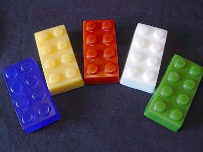 Kiddie Block Soap Mold