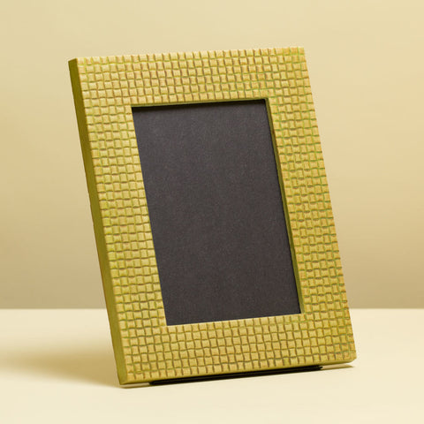 Textured Weave 5x7 - 1.5 Inch Picture Frame Mold