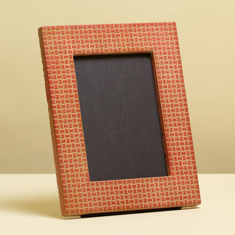 Textured Weave 5x7 - 1.5 Inch Picture Frame Kit