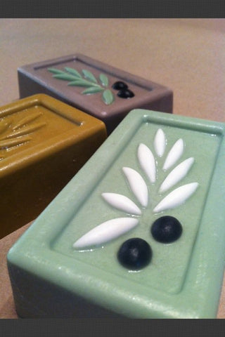 Olive Leaf Soap Mold