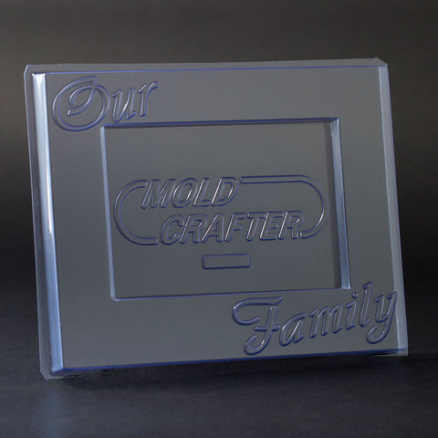 """Our Family"" 5x7 Picture Frame Kit"