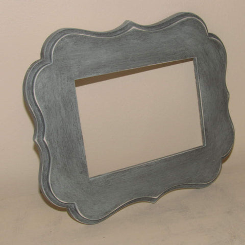 Scroll 5x7 Picture Frame Mold