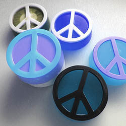 Peace Sign Soap Mold