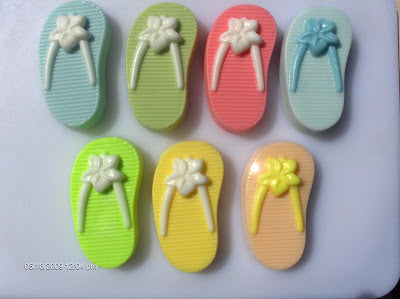 Flip Flop (left) Soap Mold