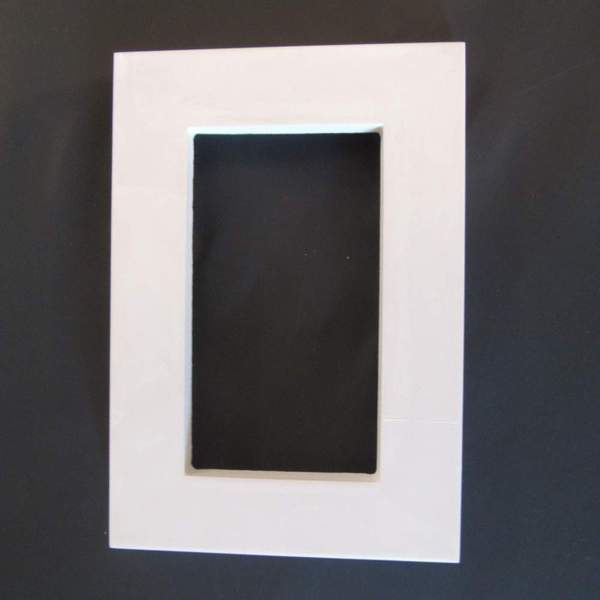 Classic Flat 3x5 .5 Inch picture Frame Mold – MoldMarket