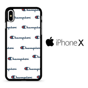 Champion White Wallpaper Iphone X Case