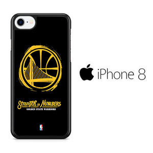 sports shoes ea60d 77b83 Golden State Warriors NBA iPhone 8 Case