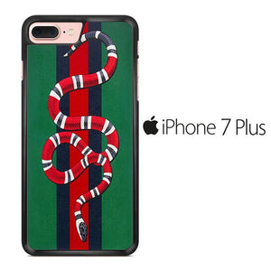 size 40 9a0da 2e836 Gucci Snake Green iPhone 7 Plus Case