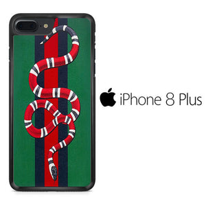the best attitude 3fbbe 69275 Gucci Snake Green iPhone 8 Plus Case