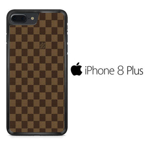 detailed pictures 5356d d5d89 Louis Vuitton Brown Motif iPhone 8 Plus Case