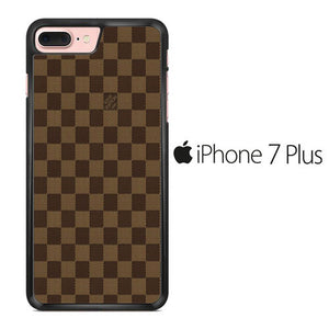 separation shoes 65079 848b9 Louis Vuitton Brown Motif iPhone 7 Plus Case
