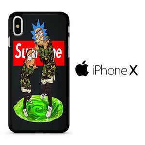 Rick And Morty Supreme Wallpaper Iphone X Case Arphostore