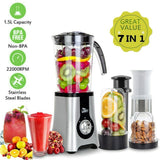Multi Blender 7 IN 1 Food Processor Smoothie Milkshake Juice Maker 220V