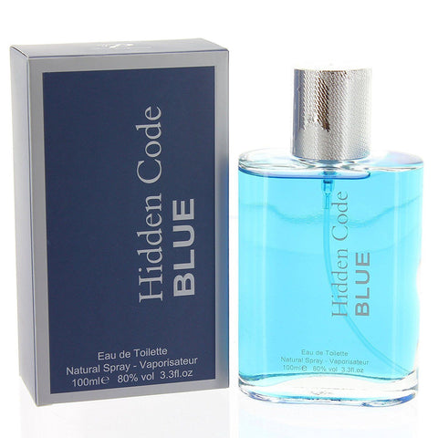 Hidden Code Blue Natural Spray Fragrance EAU DE TOILETTE 100ml - Toplen