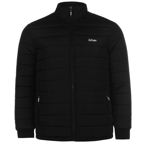 Lee Cooper Mens Padded Jacket Lightweight Full Zip - Toplen