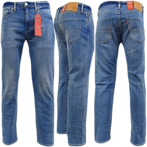 Levis 504 Jeans Regular Straight Fit Denim - Toplen