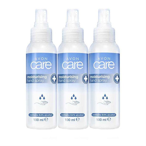 Moisturising Hand Spray 3-Pack