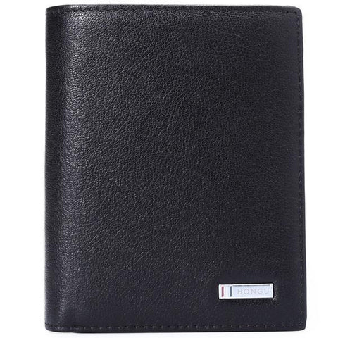 Genuine Cow Leather Men Wallet Fashion Coin Pocket - Toplen