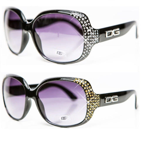Womens Ladies Designer Vintage DG Eyewear Fashion Sunglasses - Toplen