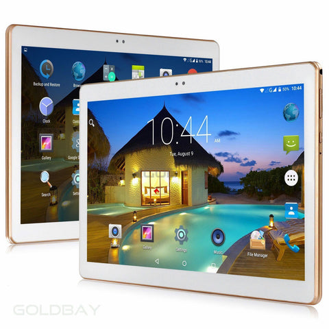 10.1'' Android Tablet PC Quad Core Bluetooth Dual SIM 3G WIFI Unlocked 16GB - Toplen