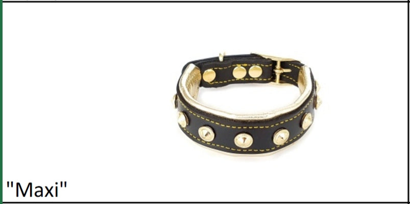 Leather Puppy Collar -