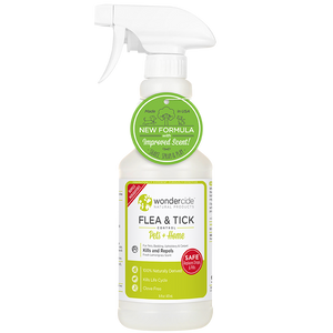 FLEA & TICK | Natural Flea, Tick & Mosquito Control for Pets + Home 16oz