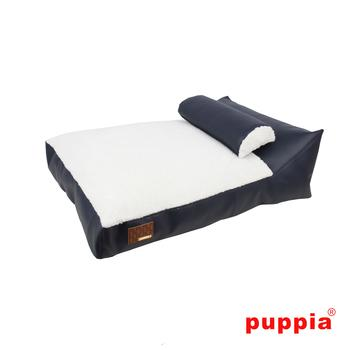 Chaise Dog Bed - Navy