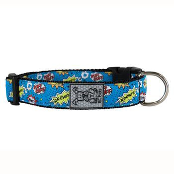 Comic Sounds Adjustable Dog Collar by RC Pet