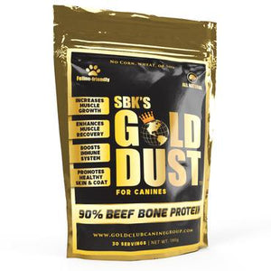 SBK's Gold Dust™ High Protein Muscle Enhancer (30 Servings) (Beef Flavor)