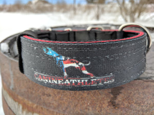 "CANINE ATHLETES USA HEAVY DUTY 1.5"" NEOPRENE PADDED WORKING DOG COLLAR"