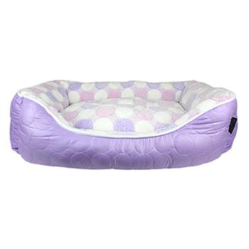 Parisian Pet Cotton Candy Pet Bed - Purple