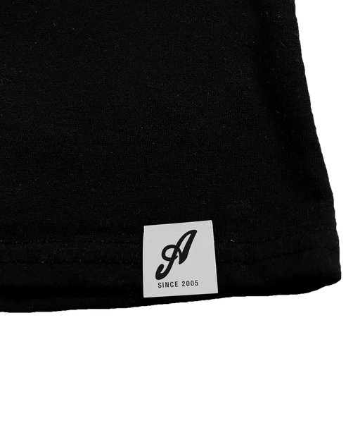 Axtone Essentials Full Logo T-Shirt, Black