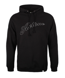 Axtone Essentials Full Logo Hood, Black