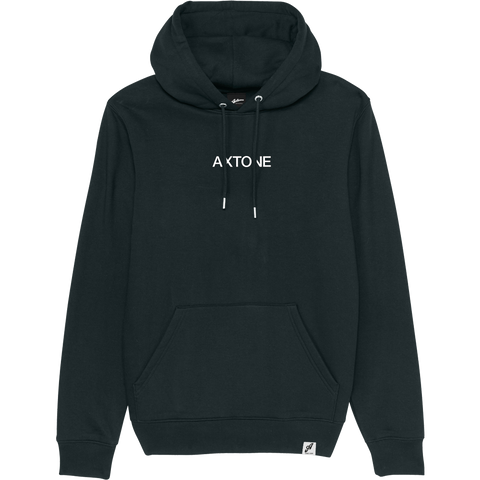 Axtone Approved - Embroidered Black Hoodie