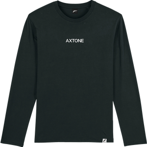 Axtone Approved - Embroidered Black Long Sleeve Tee