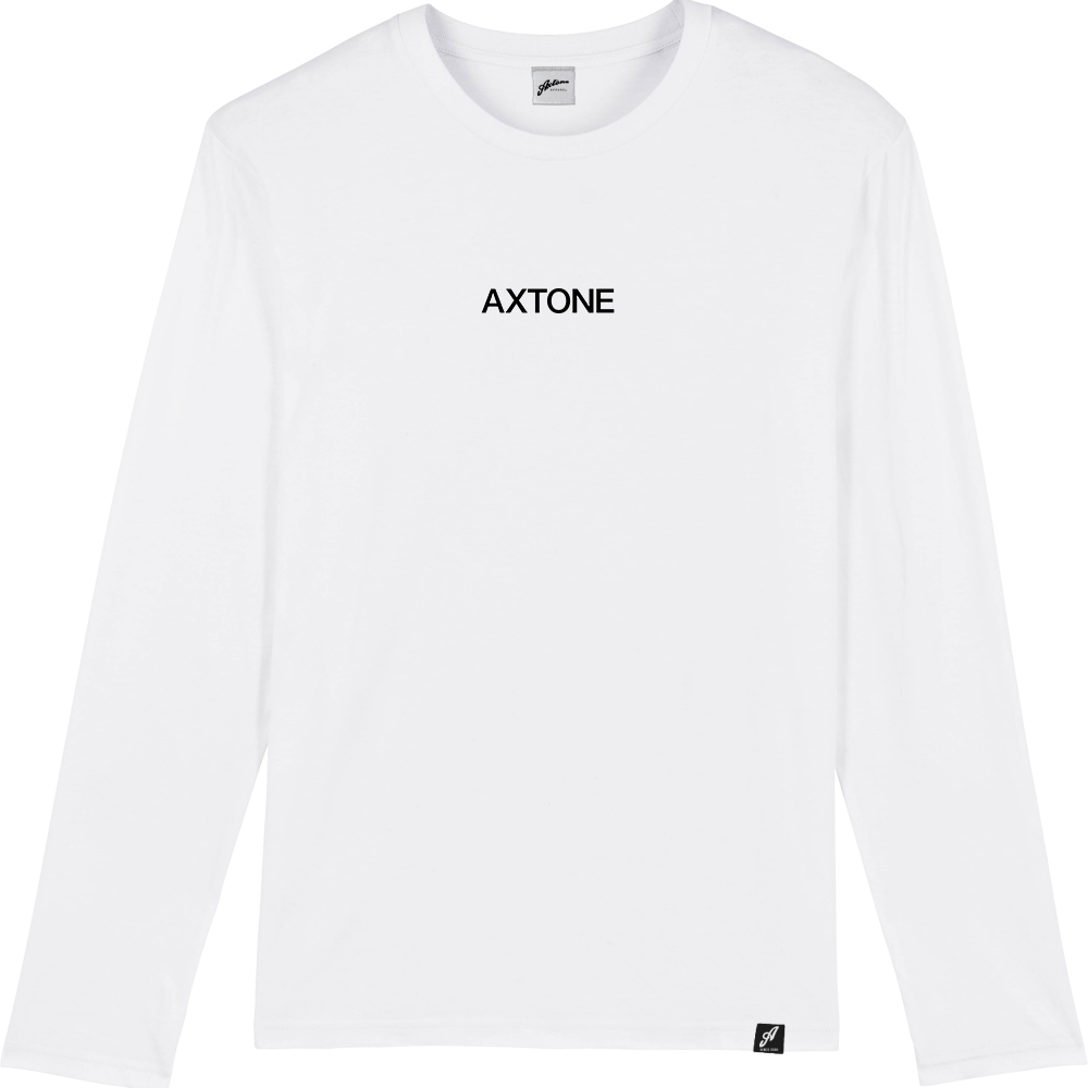 Axtone Approved - Embroidered White Long Sleeve Tee
