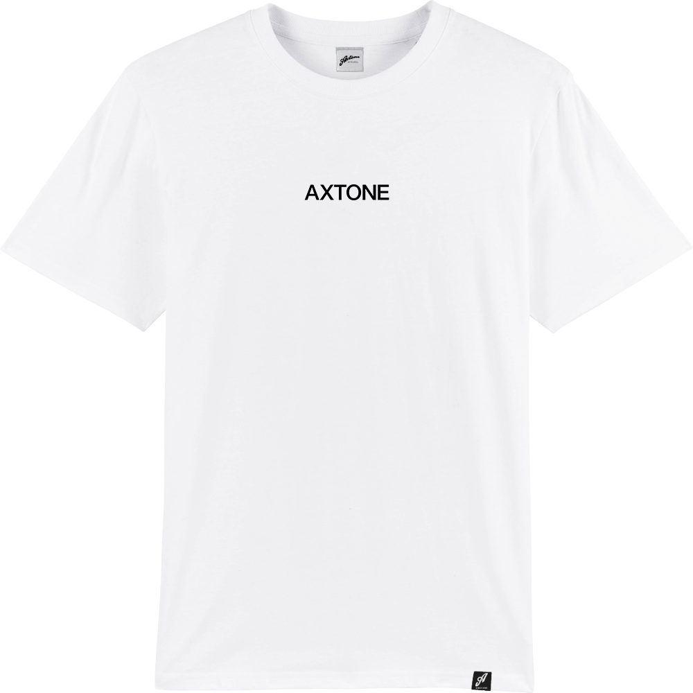 Axtone Approved - Embroidered White Short Sleeve Tee
