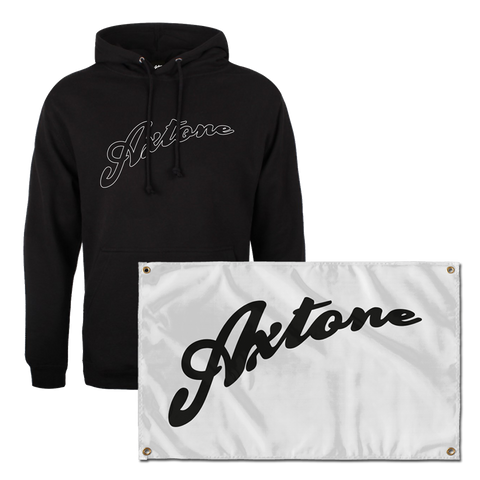 Axtone Essentials Full Logo Hood & Flag Bundle