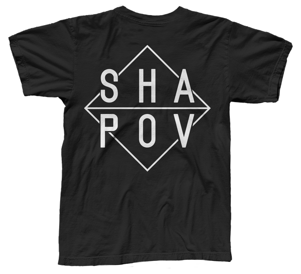 Shapov T-Shirt, Black