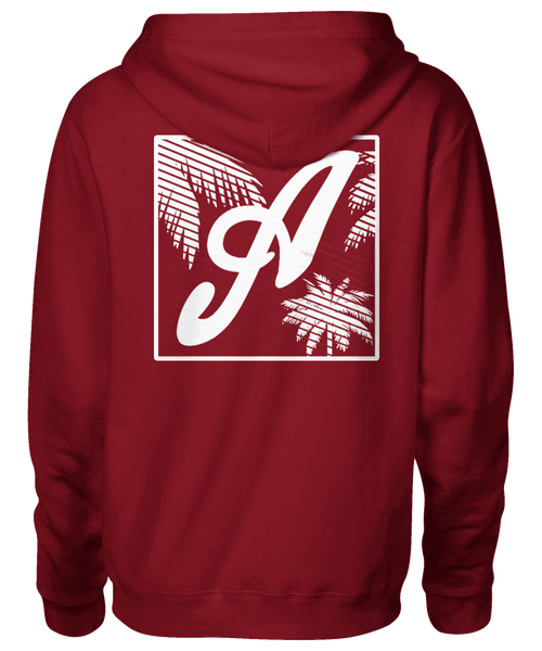 Axtone 'Miami' Red Hoodie