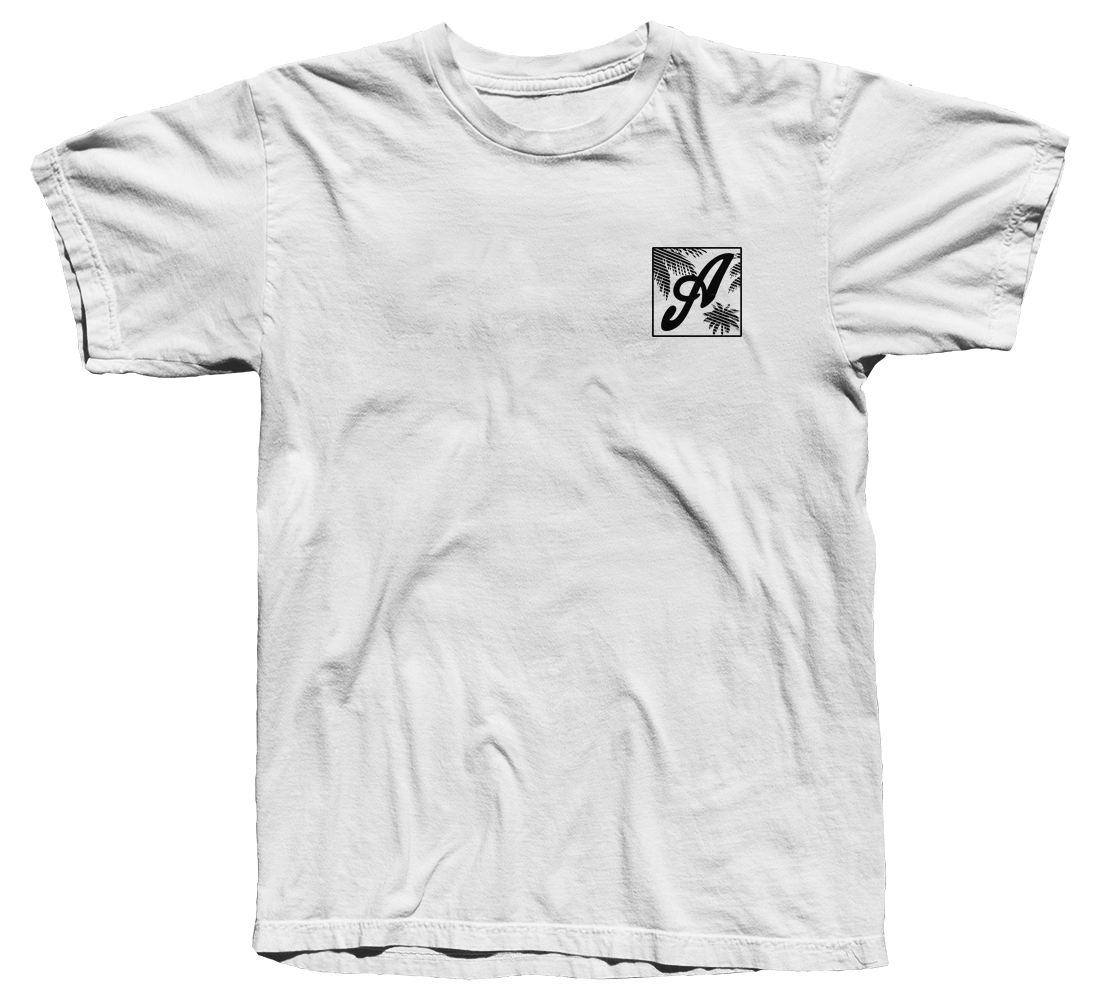 Axtone 'Miami' White T-Shirt