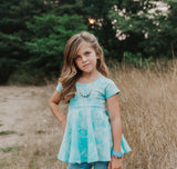 girls-fancy-peplum-top-blue-tie-dyed-tee-for-kids