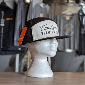 Fixed Gear Tradesman Hat Black/White